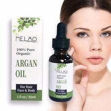 100% PURE ORGANIC ARGAN OIL FACE, HAIR, BODY SERUM - Paraben free- MOISTURIZE UK