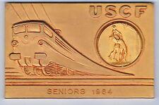 MEDAILLE USCF SENIORS 1964 SPORT COLLECTIF BASQUET BALL