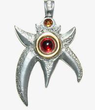 Atlantis Anhänger Modern Zauber Amulett Schmuck Magie Fantasie Himmelsrad