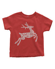 Reindeer Typography Toddler T-Shirt Cute Christmas Gift Idea