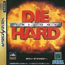 Die Hard Trilogy SEGA SATURN Japan Version