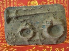 Ancient Artifact Terracotta Ring Mold Jewelry Asian Talisman Old Thai Amulet