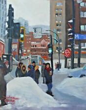 Guy Concordia, 8x10,Oil, Darlene Young Canadian Artist
