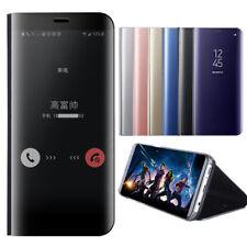 Schutzhülle Clear View Cover Flip Case Tasche Bumper f Samsung Galaxy iPhone
