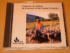 CD Ocora Chansons de metiers de Provence et du Comtat Venaissin - Radio France -
