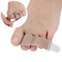 5/10Pcs Toe Separator Corrector Anti-Slip Bandages for Bunion Splints Hammer Toe
