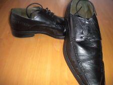 Herrenschuhe Schuhe Herren Halbschuhe Schnürschuhe Gr 42 schwarz wie NEU