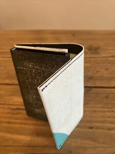 Secrid x Freitag F705 Cardprotector Wallet RRP £78 White / Blue