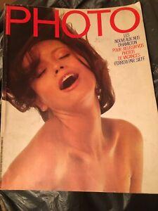 CURIOSA - Magazine PHOTO French - David HAMILTON - Nudes Collector - Rare 3