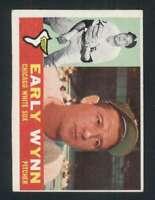 1960 Topps #1 Early Wynn EX/EX+ White Sox 123008