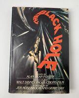 The Black Hole by Alan Dean Foster  - Del Rey HC w/DJ - 1979 BOOK CLUB EDITION
