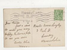 Master Ronnie Longley Peel Street Coventry 1915 634a