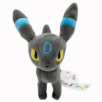 Umbreon Moonlight Pokemon Blacky Dark Type Plush Toy Stuffed Animal Figure 8""