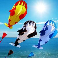 3D Cartoon Whale Software Kite Single Line Outdoor Beach With String Kid Fun Toy