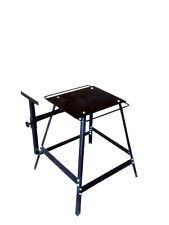 Deluxe Forge Stand for propane gas blacksmith forge or Whitlox Mini
