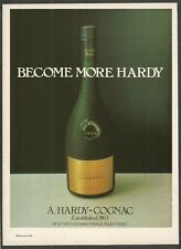 A.HARDY-COGNAC . Established 1863 - 1981 Vintage Print Ad