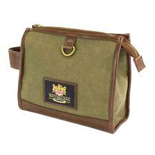 British Bag Co Waxed Canvas Wash bag Mens Gift  NEW  25131