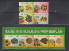 Philippine Stamps 2013 Edible Nuts and Seeds Complete set, MNH
