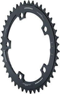 RaceFace Narrow Wide Chainring: 130mm BCD 44t Black