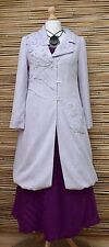 ZUZA BART*BEAUTIFUL HAND MADE PURE KNIT LINEN COAT WITH LINING**LILAC**Size M