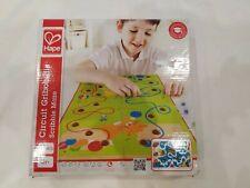 HAPE Wooden Pre-school Scribble Maze Game Educational Early Learning, new