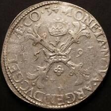 Burgundischer Taler 1591 Silber Gelderland Niederlande