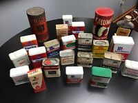 Vintage Spice Tin Collection Durkee's French's McCormick's Watkins Calumet