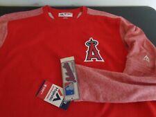 ANAHEIM ANGELS Baseball MAJESTIC Authentic THERMA BASE Sweatshirt XL New MLB