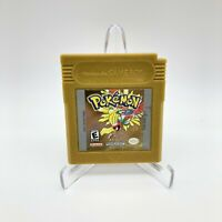 Pokemon: Gold Version Authentic  (Game Boy Color, 2000) New Battery