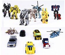 Transforming Vehicle Autobots Bumblebee Optimus Prime Storm Guard Toys for Kids