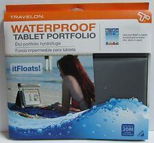 TRAVELON WATERPROOF iPad® & TABLET PORTFOLIO (AIR & WATER TIGHT)/WORLD WIDE SHIP