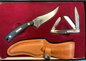 Schrade USA 152 Oldtimer 840T Whitetails Unlimited Boxed Knife Rare 34 Free Ship