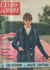 echo de la mode N°37 madeleine renaud et jean louis barrault 1959