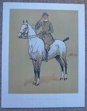 "SNAFFLES-The Gent with Osses to sell 12""x15"" print, Quality Vintage Hunt/Hunting"