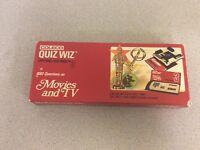 Coleco Quiz Wiz 1001 Questions Cartridge/Quiz Book #3 Movies and TV