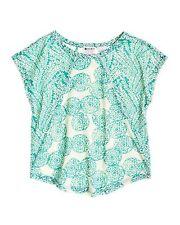 Roxy Kids 5T Top Shirt Wipe Out