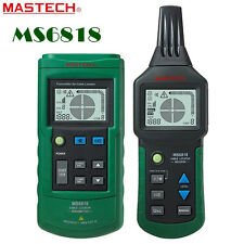 MASTECH High Sensitivity AC/DC Wire Tracker Cable Pipe Locator Detector Test