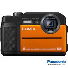 Panasonic LUMIX TS7 Waterproof Tough Digital Camera (Orange) **USA AUTHORIZED**