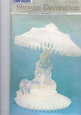 decoration de table ombrelle blanche en papier  Mariage anniversaire  fetes