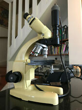 Cooke M12 Binocular Metallurgical Microscope, Watson/Baker Lenses, LED Upgrade