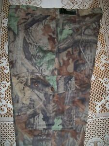 Woolrich Outdoor Guide Collection Advantage Timber Camo Saddle Cloth Pant Large