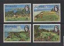 SPORT: GOLF ON BERMUDA 1971 Scott 284-287, MNH