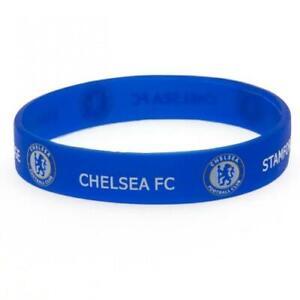Chelsea FC Silicone Wristband (football club souvenirs memorabilia)