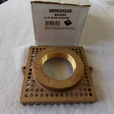 "BRAND NEW Groco BS-2500 BS Series Bronze Bilge Strainer 2 1/2 """