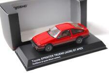 1:43 Kyosho Toyota Sprinter Trueno GT APEX 8-Spoke red NEW bei PREMIUM-MODELCARS
