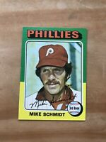 1975 TOPPS #70 MIKE SCHMIDT HOF PHILA PHILLIES— SHARP💥*** (wph)