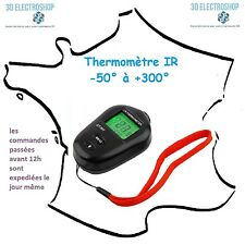 thermomètre sans contact infra rouge -50 à +300°c