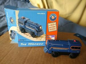 Lionel Learning Curve Torpedo Engine ~Battery ~92302 ~1998 ~WORKS ~used in box