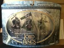 Lord of the Rings The Men of Rohan Soldiers and Scenes MINT AOME
