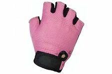 RALEIGH RSP LADIES TRACK MITT PINK WOMENS/GIRLS SMALL CYCLE GLOVES T09SMLJ